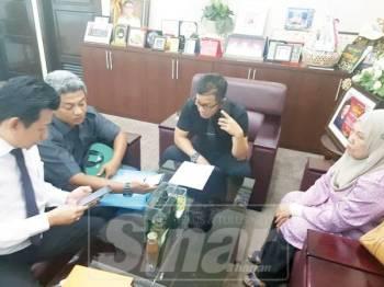 Pertemuan Persatuan Usahawan Peniaga Jalan Hang Tuah bersama Norhizam.