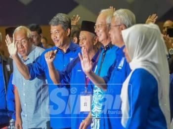 BN diumumkan menang di PRK DUN Semenyih dengan majoriti 1,914 undi. - Foto Sinar Harian SHARIFUDDIN ABDUL RAHIM