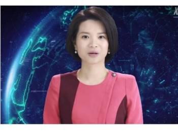 Xin Xiaomeng itu dihasilkan berdasarkan imej pembaca berita sebenar, Qu Meng.