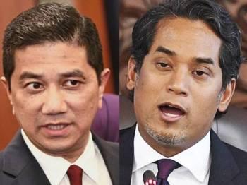 Azmin dan Khairy Jamaluddin