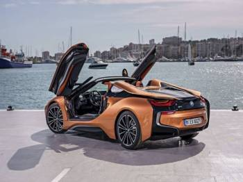 The First-Ever BMW i8 Roadster.