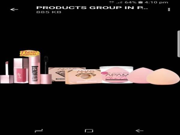 Antara produk Anas Cosmetic