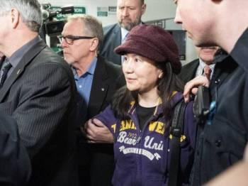 Ketua Pegawai Kewangan Huawei, Sabrina Meng Wanzhou ditahan pihak berkuasa Kanada pada Disember lalu dan penahanan itu dibuat atas arahan AS.