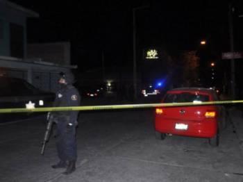 Insiden serangan bersenjata di sebuah kelab malam di bandar Salamanca, Mexico, meragut 15 nyawa.