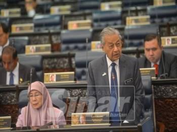 Tun Dr Mahathir Mohamad - Foto Sinar Harian oleh SHARIFUDIN ABDUL RAHIM