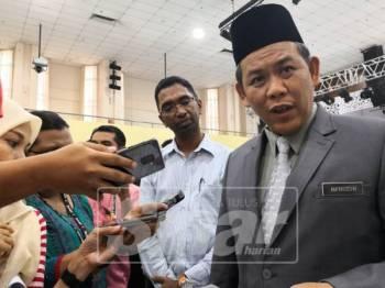 Aminuddin pada sidang media