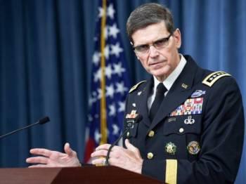 Ketua Pemerintah Pusat Tentera AS, Jeneral Joseph Votel
