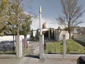 Masjid Al Noor di Christchurch New Zealand.