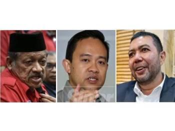 Amier Hassan, Wan Saiful Jan, Marzuki