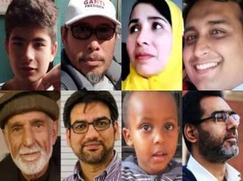 Antara mangsa yeng telah dikenalpasti - Foto NZ Herald