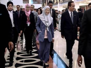 Timbalan Perdana Menteri Datuk Seri Dr Wan Azizah Wan Ismail - Foto Bernama
