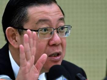 Lim Guan Eng - Foto Bernama