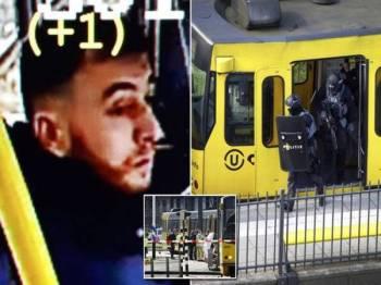 Suspek serangan di bandar Utrecht, Gokmen Tanis telah diberkas polis.