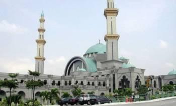 Masjid Wilayah Persekutuan siap dibina sejak tahun 2000. -FOTO: PORTAL RASMI MASJID WILAYAH PERSEKUTUAN.