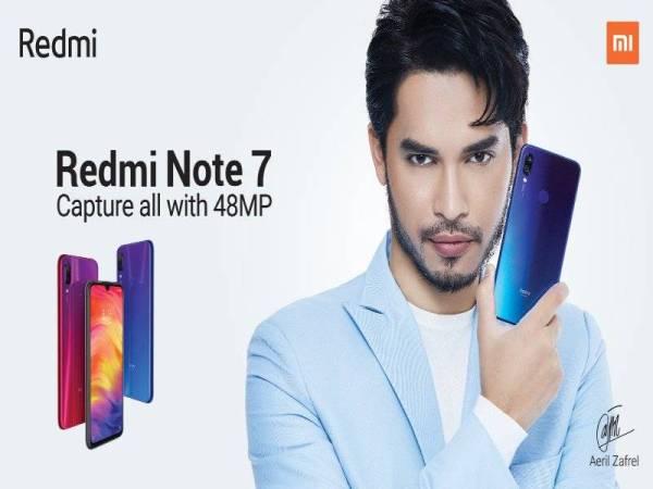 Aeril Zafrel sebagai wajah penghias untuk jenama Redmi Note 7