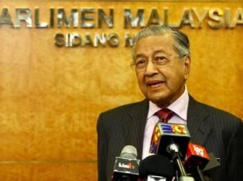 Dr Mahathir. - Foto: Sinar harian/Zahid Izzani
