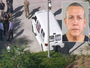 Cesar Sayoc ditahan pada Oktober tahun lalu selepas didapati mengirim sekurang-kurangnya 16 peranti bahan letupan kepada pengkritik Donald Trump.