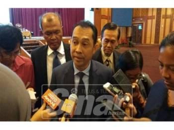 Abdul Yunus ketika ditemui pada sidang media, hari ini.