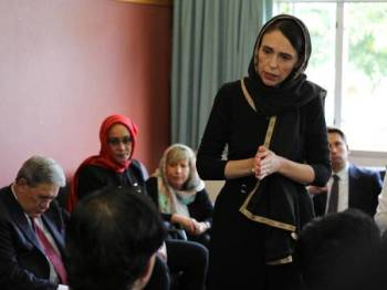 Ardern bijak menangani tragedi serangan di Christchurch