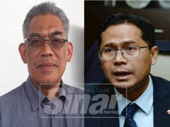Dr Ismail Salleh (kiri) dan Mohd Asmirul Anuar.