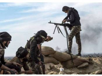 SDF telah melancarkan operasi ketenteraan di wilayah Baghouz sejak beberapa minggu lalu.
