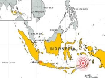 Menurut USGS gempa bumi itu berlaku pada kedalaman 37 kilometer dan berpusat kira-kira 150 kilometer di barat laut bandar Ternate.