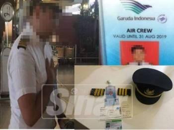 Alvin ditahan polis di Lapangan Terbang Antarabangsa Soekarno-Hatta, Tangerang.- Kompas