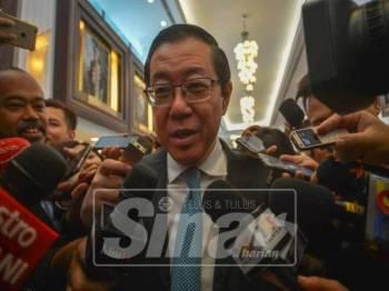 Lim Guan Eng - Foto Sinar Harian oleh SHARIFUDIN ABDUL RAHIM