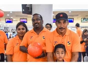 Sathis Kumar ketika menyertai program anjuran FAMA Melaka.