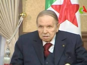 Presiden Bouteflika dilapor akan meletak jawatan sebelum mandat beliau tamat akhir bulan ini.