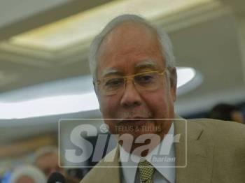 Najib Razak - Foto Sinar Harian/SHARIFUDIN ABDUL RAHIM