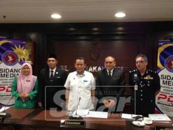 Aminuddin mempengerusikan mesyuarat, semalam.