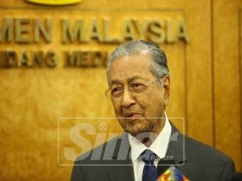 Dr Mahathir Mohamad -Foto Sinar Harian Zahid Izzani