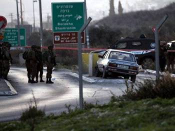 Mangsa ditembak mati berhampiran pos pemeriksaan Huwwara di Nablus.