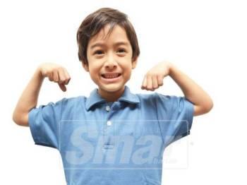 Faktor anak kurus atau gemuk bergantung kepada pemakanan dan genetik.