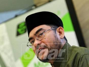Mujahid ketika mengumumkan hibah Tabung Haji bagi tahun kewangan 2018 pada kadar 1.25 peratus, kepada semua pendeposit. - Foto Sinar Harian/ZAHID IZANI