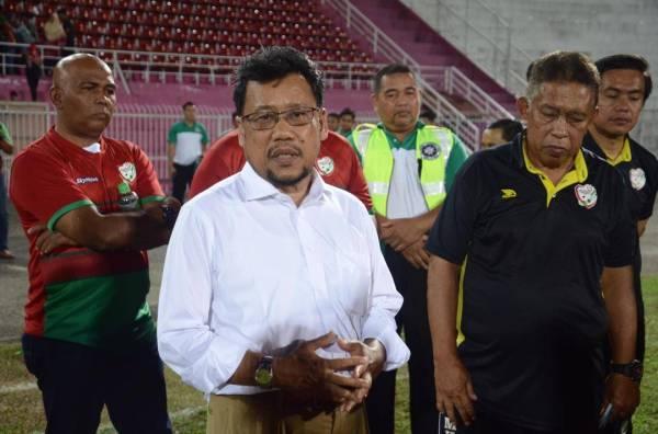 Che Abdullah mahu penyokong terus memberi sokongan kepada Kelantan United FC.