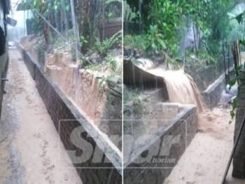 Penduduk mendakwa banjir lumpur kerap berlaku di kawasan ini.