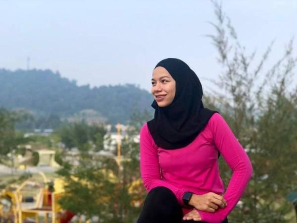 Berat badan terkini Siti Aminah 58kg