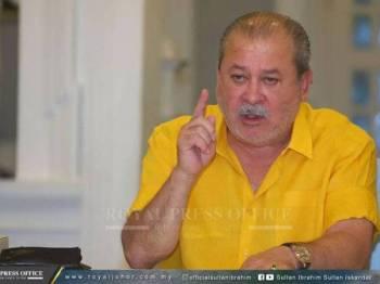 Sultan Johor, Sultan Ibrahim Ibni Almarhum Sultan Iskandar