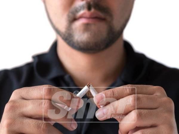 Melengah-lengahkan waktu merokok bagi menghilangkan keinginan untuk merokok