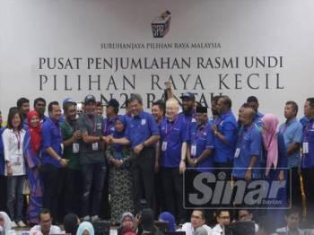 Mohamad mempertahankan kerusi DUN Rantau selepas menewaskan tiga lagi lawannya, Dr S Streram dari PH dan dua calon Bebas, Mohd Nor Yassin dan R Malar.