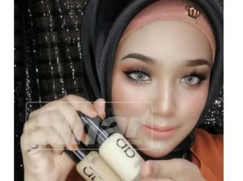 Mekdinda meminta kaum wanita memilih foundation yang sesuai dengan jenis kulit