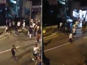 Polis menahan enam warga Nigeria susulan insiden pergaduhan di Bukit Bintang, Kuala Lumpur, pada 8 April lalu.