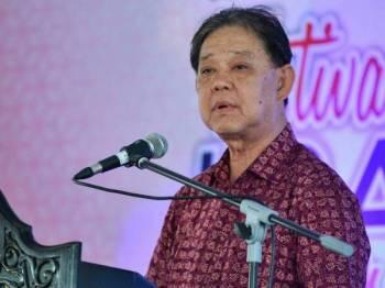 Datuk Mohamaddin Ketapi - Foto Bernama