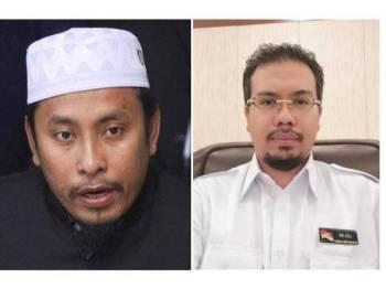 Ahmad Fadhli (kiri), Nik Saiful