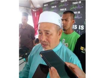 Tuan Ibrahim ketika ditemui selepas kuliah Jumaat di Medan Ilmu Kota Bharu, hari ini.