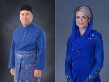 Istiadat akad nikah Tengku Mahkota Kelantan, Dr Tengku Muhammad Faiz Petra Sultan Ismail Petra dengan pasangan, Cik Puan Sofie Louise Johansson berlangsung dengan selamatnya, malam ini.