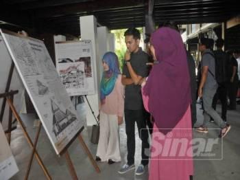 Peserta seminar berpeluang melihat sekitar muzium tersebut.