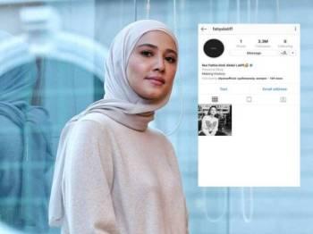 FATHIA LATIFF - Foto : Instagram & Zahid Izzani